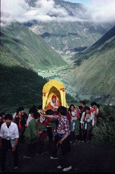 Photographies - Tibet - Matthieu Ricard - Dilgo Khyentsé Rinpotche - Goste La Col - Col de Gosté La