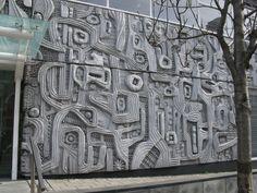 Cement Art, Concrete Art, Concrete Casting, Architectural Sculpture, Ceramic Wall Art, Land Art, New Artists, Public Art, Wall Sculptures