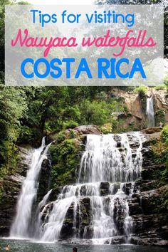 Tips for visiting Nauyaca waterfalls near Dominical, Find out how to get there, where it is and more. http://mytanfeet.com/activities/nauyaca-waterfalls-in-costa-rica-dominical/