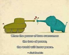 #quote #peace #love #power