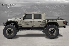 "Gladiator Gang on Instagram: ""What's your favorite part of this build? Rendering done by @DesertChief We finalized our 2020 Jeep Gladiator Launch Edition order today 👍…"" Auto Jeep, Jeep Pickup, Jeep Truck, Pickup Trucks, Jeep Cj7, Jeep Wrangler Rubicon, Jeep Wrangler Unlimited, Overland 4runner, Jeep Gladiator"