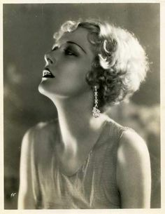 """Mary Nolan. She was discovered by Florenz Ziegfeld, who hired her under the name Imogene Wilson (the first of three name changes she was to have) as a dancer in his follies. As a showgirl in New York she was called Bubbles. Her impact as a dancer was so profound that columnist Mark Hellinger once said of her in 1922: """"Only two people in America would bring every reporter in New York to the docks to see them off. One is the President. The other is Imogene """"Bubbles"""" Willson."""