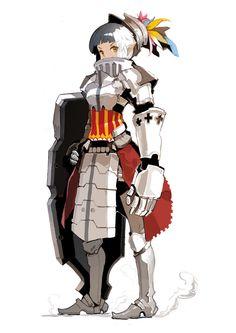 [Fantasy] - [digitalart/paintings/fantasy] - Knight - by: alchemaniac