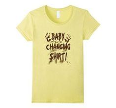 Amazon.com: BABY CHANGING T-SHIRT. geek-nerd parents. mens-womans: Clothing