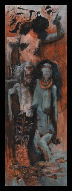 Three Disgraces by Santiago Caruso