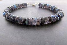 labradorite bracelet, vegan bracelet, gemstone bracelet, healing bracelet, stacking bracelet, chakra bracelet, energy bracelet