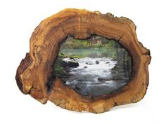 Hollow Maple Picture Frame  Large Reclaimed by MissouriNatureArt, $199.00