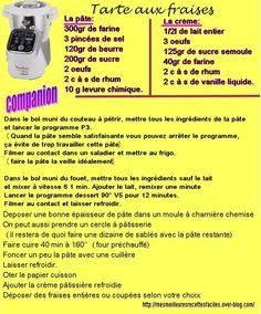 Tarte aux fraises (sablé, crème patissière) Gateau Basque Recipe, Prep & Cook, Drink Recipe Book, Cake Factory, Food And Drink, Cooking, Dessert Companion, Celine Dion, Robots