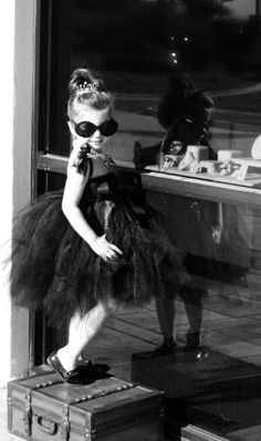 I LOVE THIS LITTLE GIRL!  Audrey Hepburn