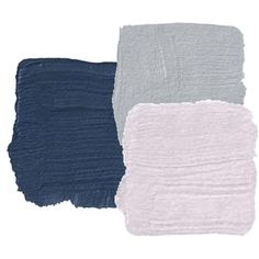 "Bought The Frozen Sheets A pretty paint color palette for a ""Frozen"" room--if you must have one. Navy + lavender + grayA pretty paint color palette for a ""Frozen"" room--if you must have one. Mauve Bedroom, Bedroom Paint Colors, Bedroom Color Schemes, Colour Schemes, Color Combos, Bedroom Decor, Bedroom Ideas, Navy Master Bedroom, Purple Paint Colors"