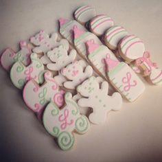 Sweet Baby Shower Cookies.