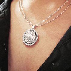 Conjunto colar e brinco prata strass #conjunto #colar #brinco
