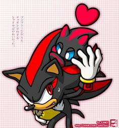 Asdafsdfa, I had to do this, sorry! xDDD Yesterday I played Sonic Adventure 2 with and , and Shadow with the Chaos in Chao Garden was SO FREAKING CUTE!! >///< asdasd I love it! so, here is ju...