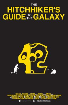 The Hitchhiker's Guide To The Galaxy by Meaghan Hendricks #movie #poster