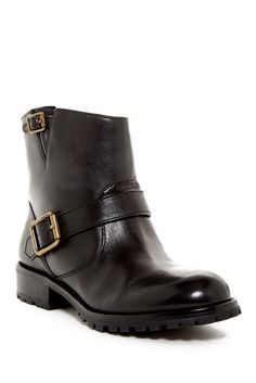 Image of Marc by Marc Jacobs Buckle Ankle Boot
