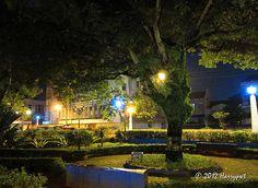 park in old town semarang