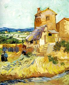"""The Old Mill [1888]""  Vincent Van Gogh"