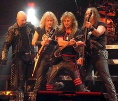 Judas Priest! If you miss the times when heavy metal was about high screaming vocals and electrifying guitar solos, check my band TRAINWRECK ARCHITECT: http://www.trainwreckarchitect.net/?page_id=506