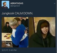 Keep a knife under your pillow tonight just in case Namjoonie oppa