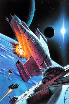 Space battles! By Chris Moore.