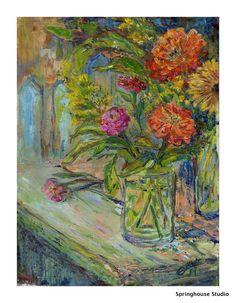 Michele Woodruff's Zinneas For Sale @ the 5th Annual Art of Preservation Sept 24th at Kirkland Farm artofpreseration@gmail.com