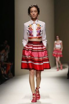 Alberta Ferretti Ready To Wear Spring Summer 2014 Milan - NOWFASHION