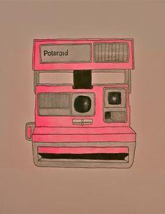 i got a polaroid camera for christmas!now i just need film Polaroid Vintage, Vintage Cameras, Camera Drawing, It's All Happening, Polaroid Camera, Polaroid Pics, Camera Art, Zombie Party, Photography Camera