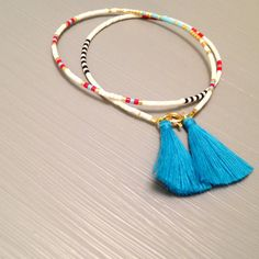 Hey, I found this really awesome Etsy listing at https://www.etsy.com/listing/257940305/tassel-bracelet-beaded-tassel-bracelet