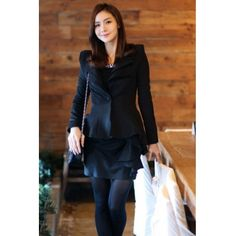 $14 Corean Fashion New Black Blazer