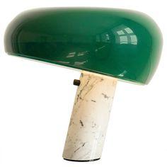 Achille  Castiglioni , Snoopy Table Lamp