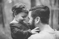 Ideas de sesiones de fotos papá e hija:  ¡Preciosas imágenes!