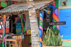 Colorful restaurants to eat in Sayulita, Nayarit.