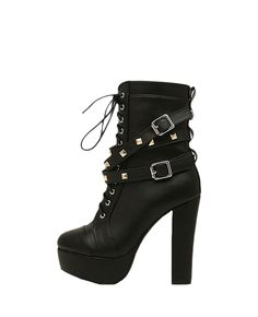Super SEXY #Boots I want!  $54 (reg $109) #vegan #leather #heels #shoes #BlackFive #mystylespot #fashion #style #shop #women #apparel #clothing #accessories
