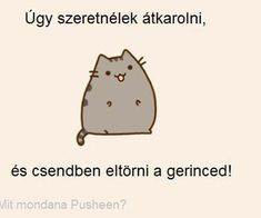 "Find and save images from the ""pusheen magyar😉"" collection by Zoé Rácz (zoeracz) on We Heart It, your everyday app to get lost in what you love. Pusheen Cat, Nyan Cat, Grumpy Cat, Wholesome Memes, Cat Memes, Haha, I Am Awesome, Motivational Quotes, Funny Pictures"