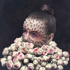 Cal Redback, a self-made photographer and retoucher from Paris, got, let's say, a little creative with pictures of his friends. To be more precise, he used Photoshop to make portraits of his friends with plants growing from their faces...