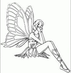 Peri Kizi Boyama Sayfasi Fairy Girl Coloring Page Pagina Para Colorear De Nina De Hadas Skazochnaya Stranica F Boyama Sayfalari Hayvan Boyama Sayfalari Kizlar