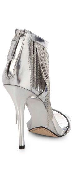02ac9a1945e B Brian Atwood - Condesa Metallic Leather Fringe Sandals