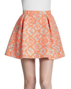 Buy Nanette Lepore Women's Multicolor Wildcat Skirt, starting at $119. Similar products also available. SALE now on! #nanettelepore