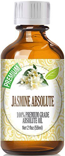 Jasmine Absolute Oil (60ml) - Premium Grade by Healing Solutions Essential Oils 60ml / 2 (Oz) Ounces >>> Click on the image for additional details.