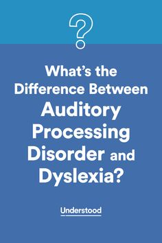 Dyslexia and auditory processing disorder (APD) can impact reading, writing and listening skills in different ways. Use this chart to learn the differences between them. Speech Language Pathology, Speech And Language, Auditory Processing Disorder, Learning Support, Dysgraphia, Learning Disabilities, Developmental Disabilities, Reading Intervention, School Psychology