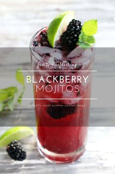#ad Combine a signature rum cocktail with fresh, summer blackberries to take these bubbly cocktails to a whole new level. Blackberry Mojitos capture the flavor of summer. AD @bacardi @sofabfood #MixUpYourSummer #DoWhatMovesYou #SoundOfRum #mojitos #blackberry #blackberrymojito #cocktail