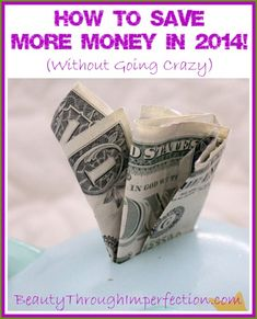 How to Save MORE Money ! (Without Going Crazy)-- This article contains tons of links to other articles, all about saving money. Show Me The Money, Save Your Money, Ways To Save Money, Big Money, Best Money Saving Tips, Money Tips, Saving Money, Financial Peace, Financial Tips