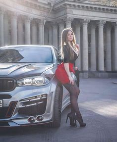 Skintight Dresses on Tight Bodies Woman In Car, Car Poses, Sports Cars Lamborghini, Bmw Girl, Bmw Love, Bmw X6, Beautiful Women Pictures, Beautiful Ladies, Top Cars