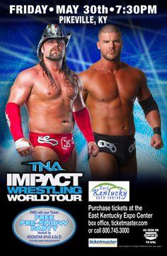 TNA Impact Wrestling 2014 World Tour Friday May 30th at 7:30