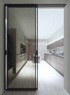 Marina Palas | Apartments Rimadesio: sliding doors systems, living area, complements, doors, walk-in closet