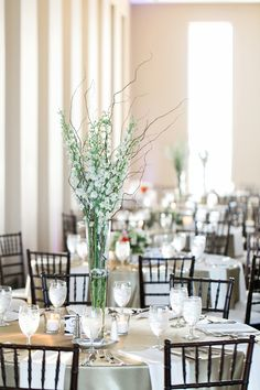 glam ballroom reception - photo by Aubrey Marie Photography http://ruffledblog.com/romantic-ballroom-wedding-in-tulsa