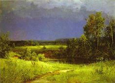 Gathering Storm by Ivan Shishkin