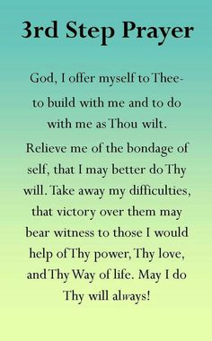 11th step prayer | Recovery Thoughts 2 | Pinterest | Recovery ...