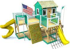 Fun backyard playground for kids ideas (26)