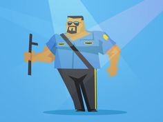 80's Wrestlers - The Big Boss Man
